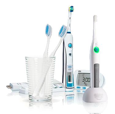 Как использовать электро зубную щетку